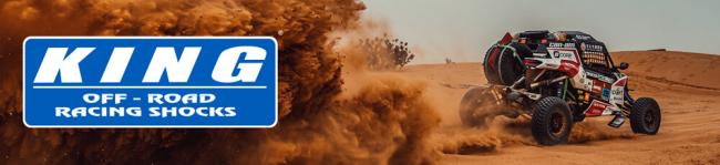 king shocks banner buggya racing