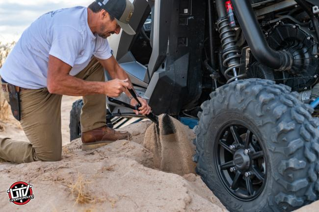 rhino usa folding survival shovel 24