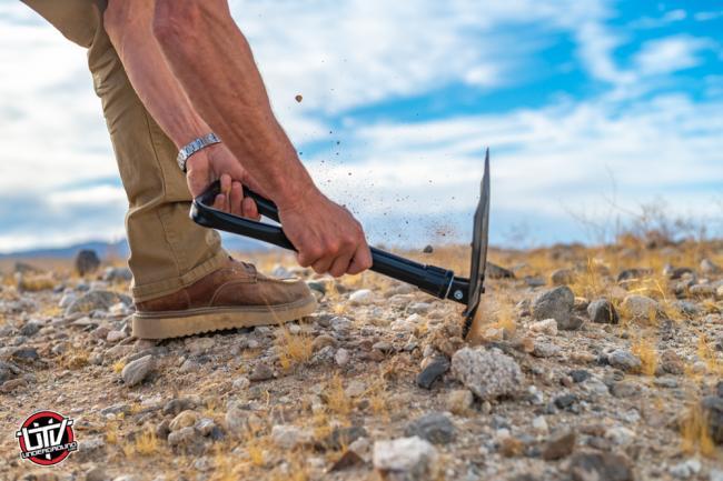 rhino usa folding survival shovel 27