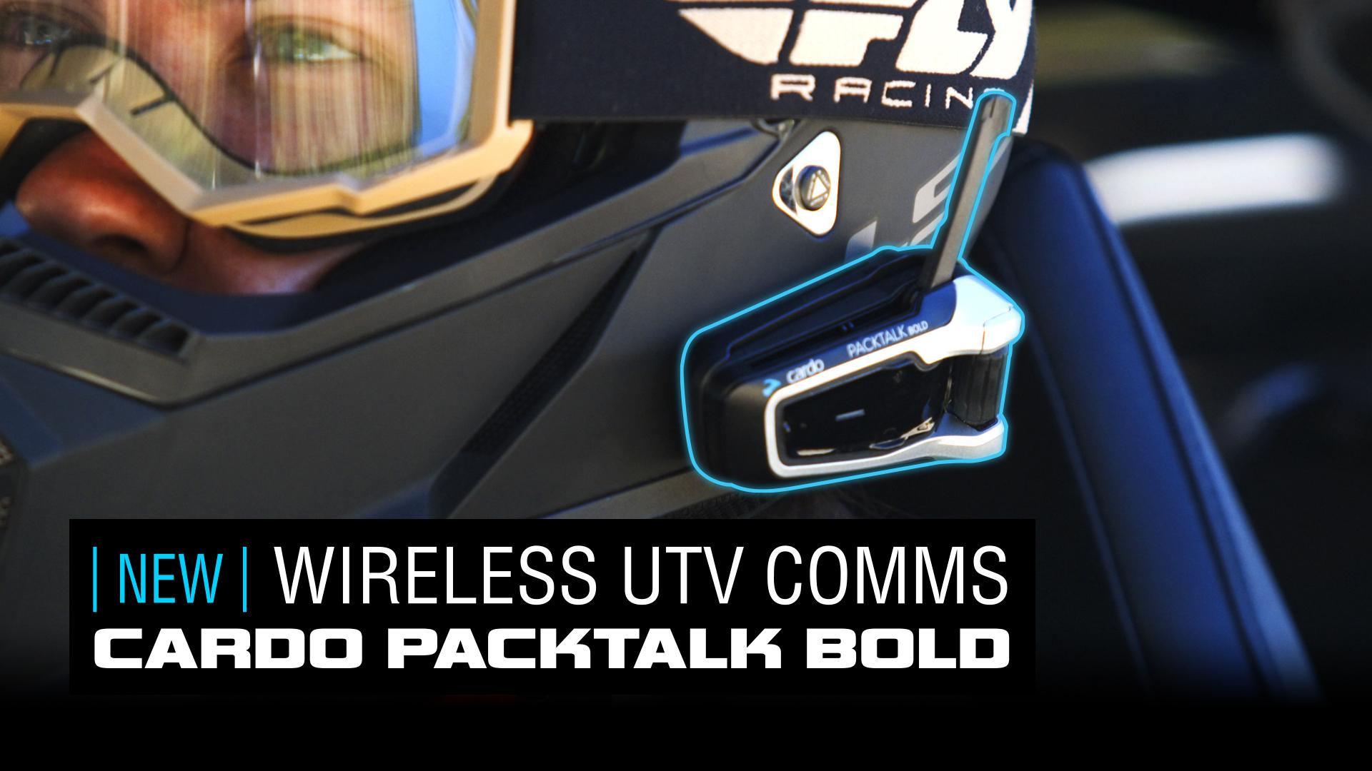 2020 UTVUG Feature Product cardo systems