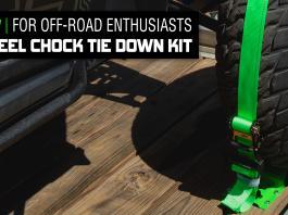 2020 UTVUG Feature wheel chock Product