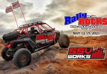 SSV Works 2021 Rally on the Rocks