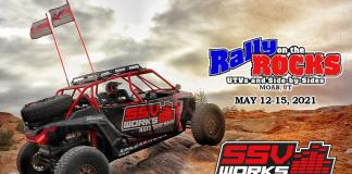 SSV Works 2021 Rally on the Rocks