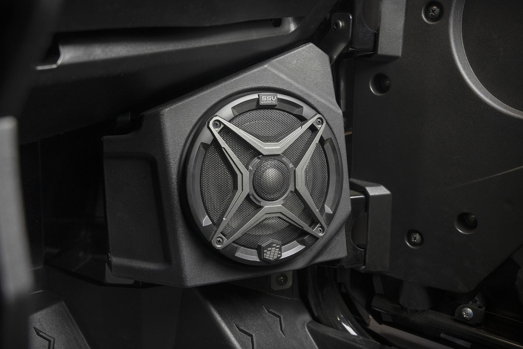 SSV Works KX F65A Kawasaki Teryx install