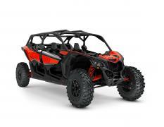 ORV SSV MY22 MaverickX3 MAX DS Turbo Can Am Red SKU0007WNA00 Studio 34FR NA