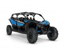 ORV SSV MY22 MaverickX3 MAX DS Turbo Octane Blue SKU0007WNC00 Studio 34FR NA