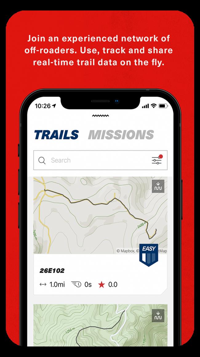 OnTrail AppStore 4